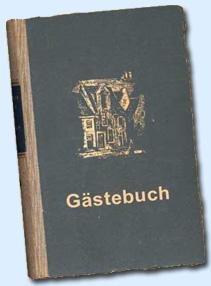 Gästebuch von Helga und Ingo